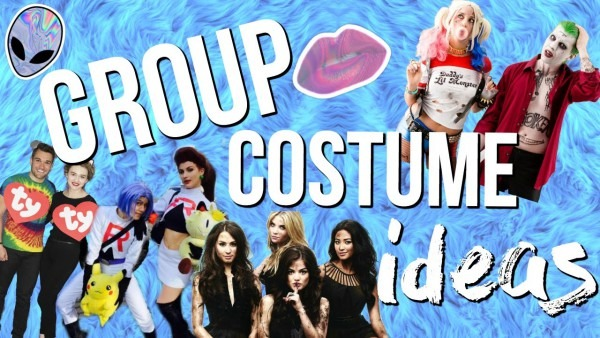 11 Group Halloween Costume Ideas 2016! Last Minute Costume Ideas