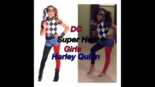 Dc Superhero Girls Harley Quinn Costume