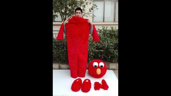 How I Play Super Cute Elmo Sesame Street Plush Adult Mascot