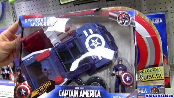 The Avengers Captain America Toys Review Marvel The First Avenger