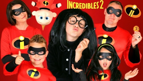 Disney Pixar Incredibles 2 Edna Mode Makeup And Costumes