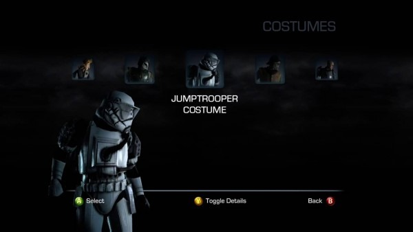 Star Wars  The Force Unleashed Ii All Costumes