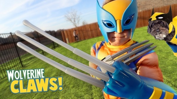 Wolverine Claws! Super Hero Gear Test & Toys Review For Kids