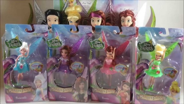 Disney Fairies The Pirate Fairy Gem Collection  Tinker Bell