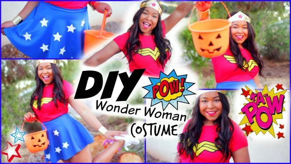 Superwoman Costume Homemade & Adult Dc Wonder Woman Costume Sc 1