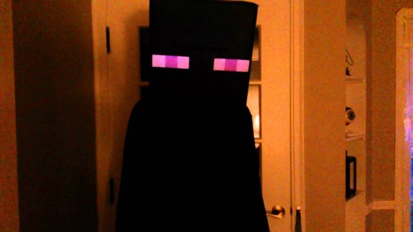 Enderman Costume With Arduino For Lights & Sounds