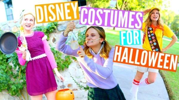 Diy Disney Costumes For Halloween!