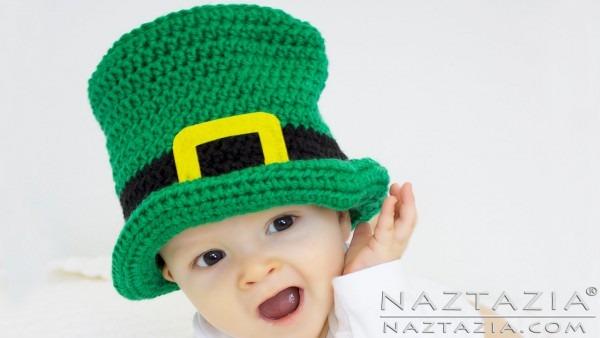 Diy Tutorial Irish Crochet Top Hat Baby Child Adult