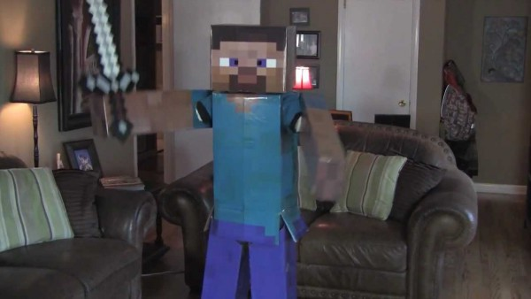 Minecraft Steve Dancing To The Epic Creeper Song, Costume