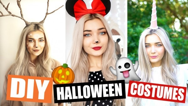 Diy Last Minute Halloween Costumes! (easy)
