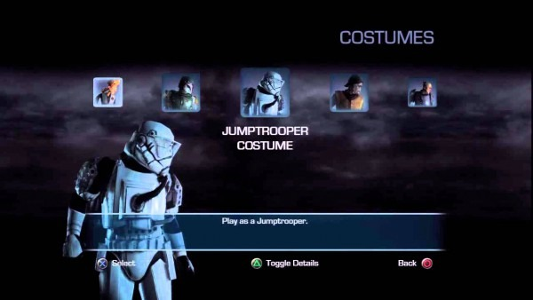 Unlocked Hidden Costumes In Star Wars Force Unleashed 2