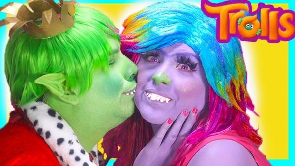 Trolls Bridget Poppy Branch Lady Glitter King Gristle Makeup