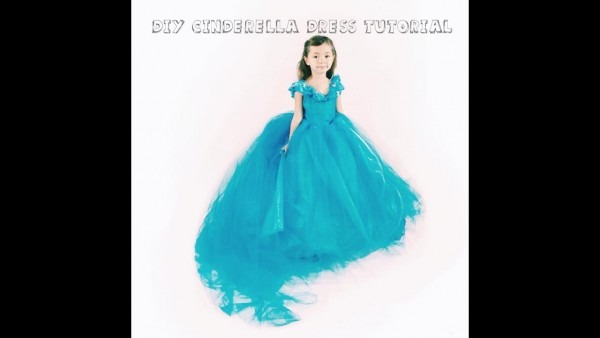 Diy Cinderella Dress Tutorial