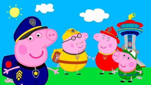 Peppa Pig Paw Patrol