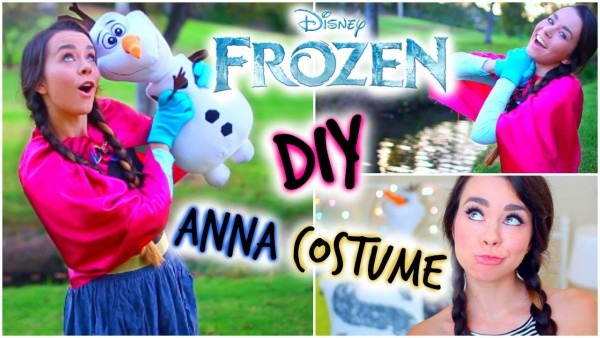Diy Frozen Anna Halloween Costume! Easy & Affordable!