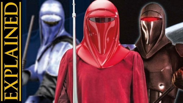 Imperial Royal Guards And Their Variants  Star Wars Canon Vs
