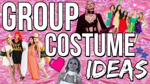 8 Group Halloween Costume Ideas 2017! Last Minute Costume Ideas
