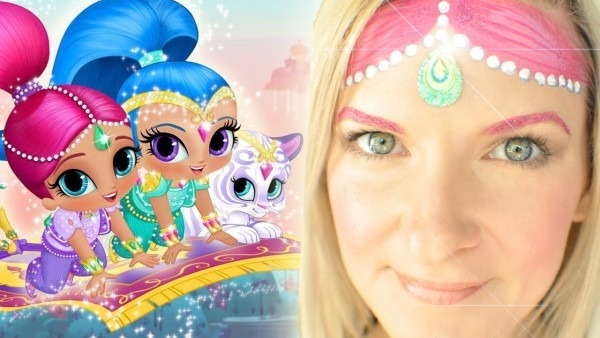 Shimmer And Shine Face Painting Tutorial