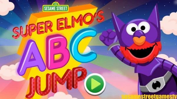Sesame Street Super Elmo's Abc Jump Letter Superhero