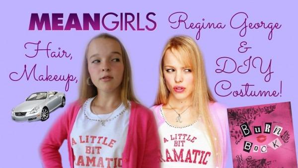 Mean Girls  Regina George Makeup, Hair, & Diy Halloween Costume