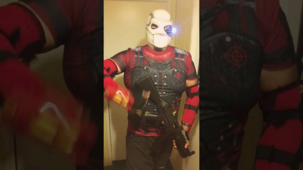 My Halloween Costume (deadshot)!!!