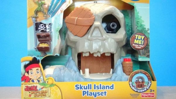 Jake And The Neverland Pirates Skull Island Disney Fisher Price