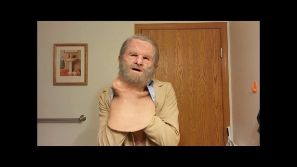 Realistic Old Man Silicone Mask Haired By Jeremy Gardner