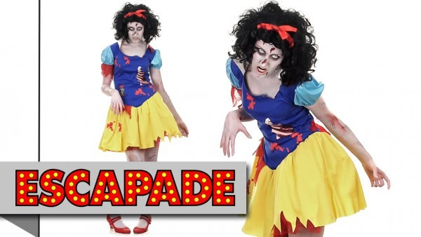 Snow White Zombie Halloween Costume