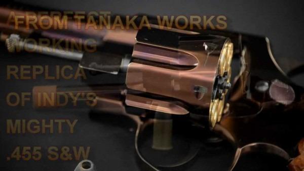 Indiana Jones S&w Tanaka Replica Gun