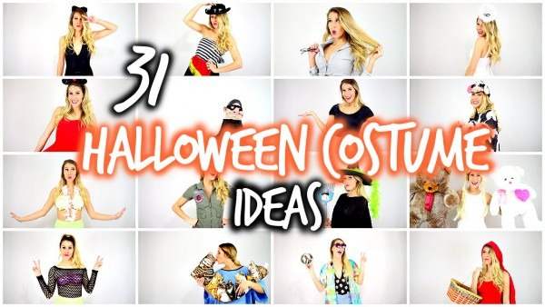 31 (last Minute) Halloween Costume Ideas