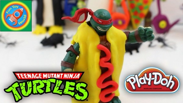 How To Tmnt Ninja Turtles Play Doh Halloween Costumes Michelangelo