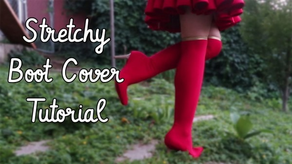 Stretchy Boot Cover Tutorial