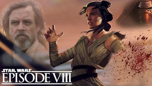 Star Wars Episode 8 The Last Jedi Rey Gets An Injury!! Romance