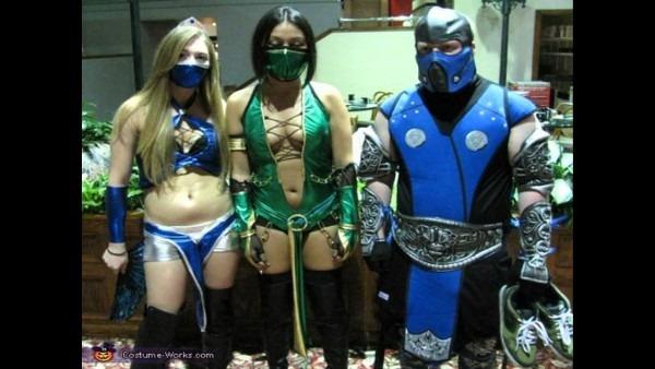 Mortal Kombat Halloween Costumes For Adults