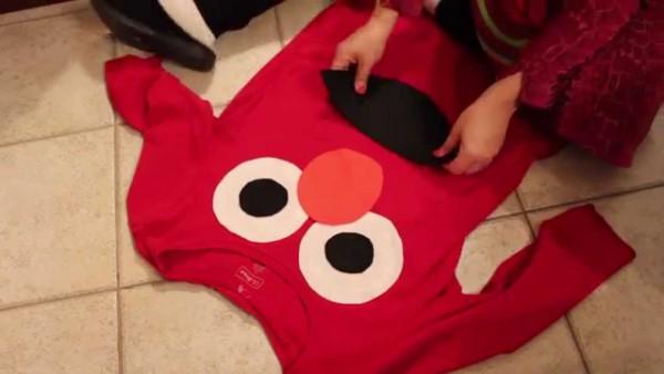 Diy Elmo Costume!