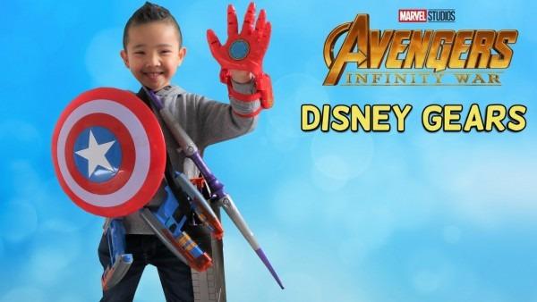 Disney Avengers Gears Infinity War Toy Hunt Superhero Fun With Ckn