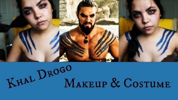 Khal Drogo Makeup & Costume