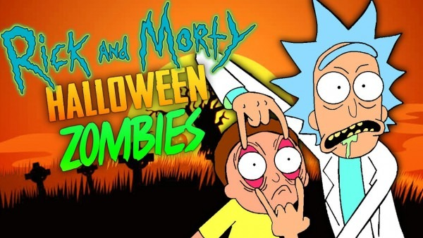 Rick And Morty Halloween Special (call Of Duty Zombies)
