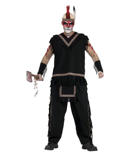 Mens Indian Warrior Costume