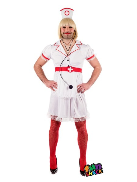 Mens Naughty Nurse Costume