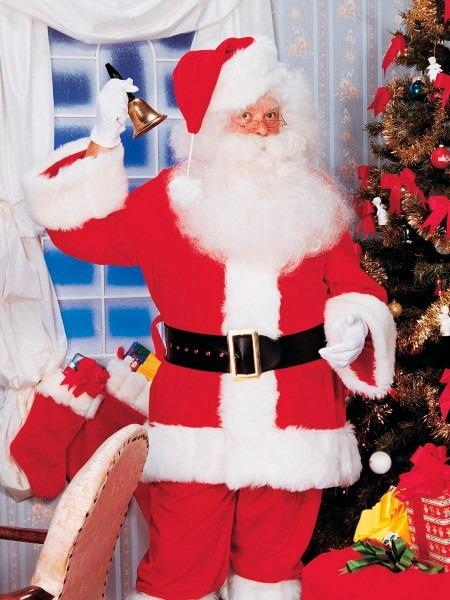 Mens Xxl Premium Professional Santa Suit 883028309801