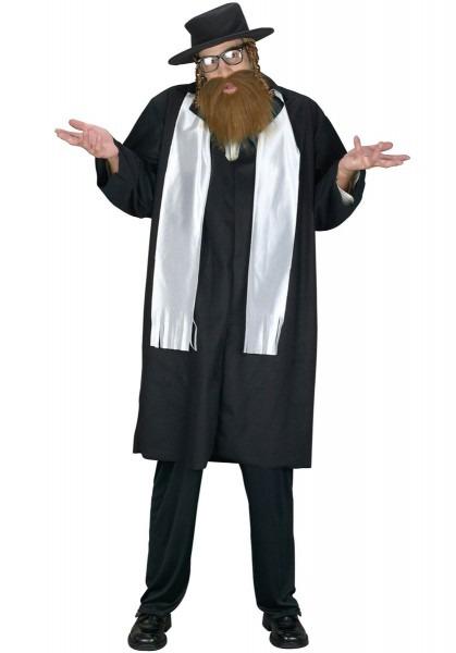 Mens Jewish Rabbi Fancy Dress Saints & Sinners Religious Adults