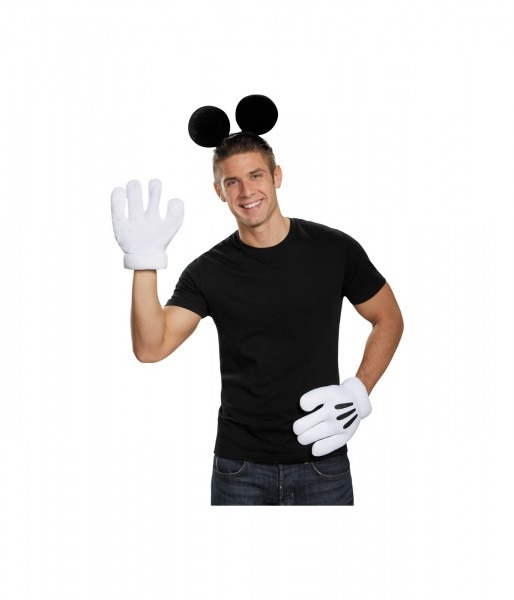 Mickey Mouse Ears And Glove Set