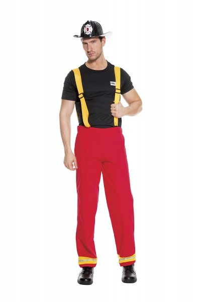 Adult Firefighter Hero Men Costume