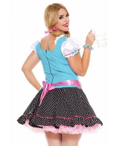 New Music Legs 70544q Plus Size Miss Oktoberfest Costume