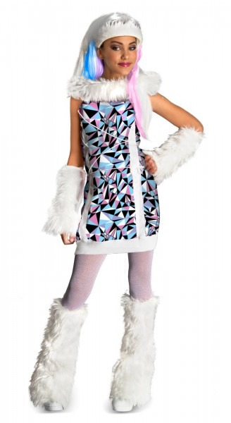 Monster High Abbey Bominable Child Girl's Costume