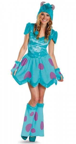Monsters University Sassy Sulley Adult Women's Costume