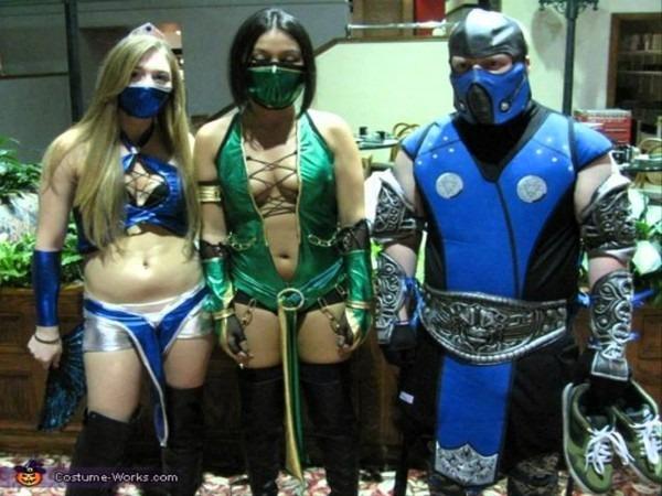 Mortal Kombat Halloween Costumes – Festival Collections