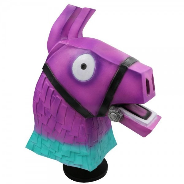 Mostashow Battle Royale Troll Stash Llama Mask Cosplay Halloween