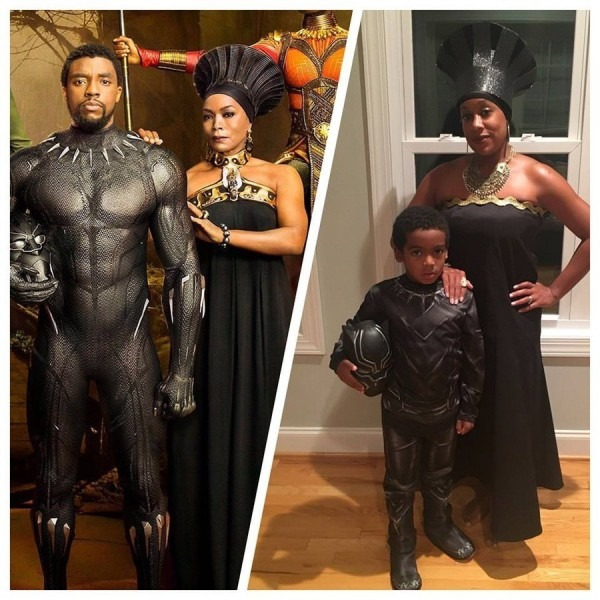 Mother Son 'black Panther' Halloween Costume